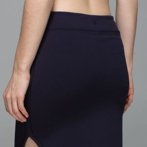 Lululemon City Skirt Naval Blue